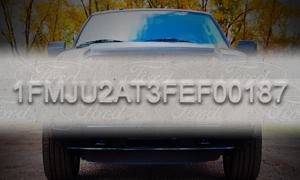 Fichier de numéros d'identification de véhicule